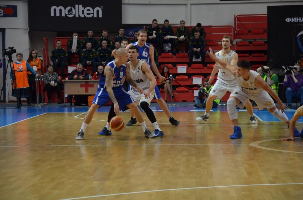 БК «ПАРМА» стал бронзовым призером Кубка России по баскетболу